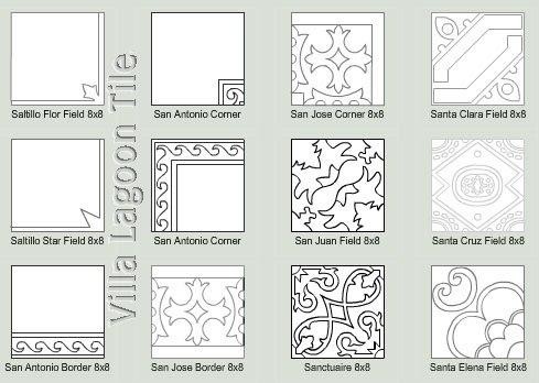 custom tile patterns