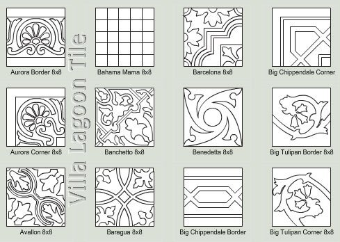 Mission Tile designs