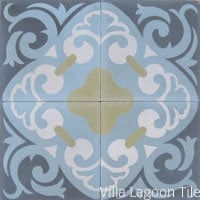 La Espanola In-Stock Cement Tile from Villa Lagoon Tile