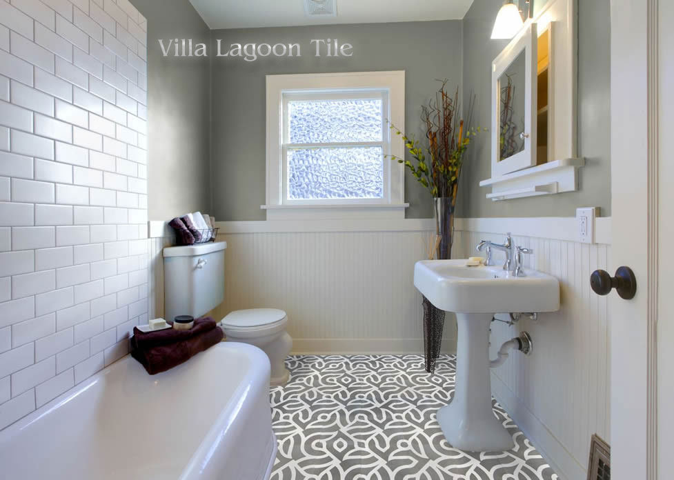 Contemporary cement tile