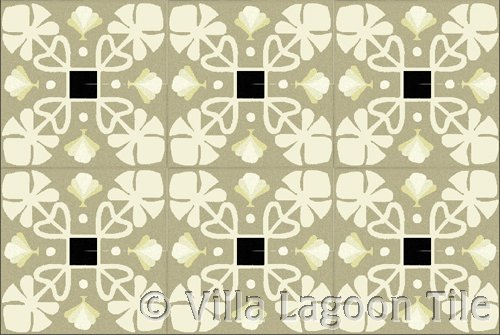 Neutral colored floor tile