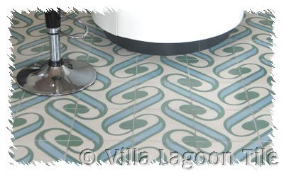 Contemporary design cement tile