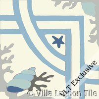 trapani azul frost tile
