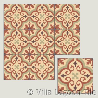 Encaustic tile for Britian