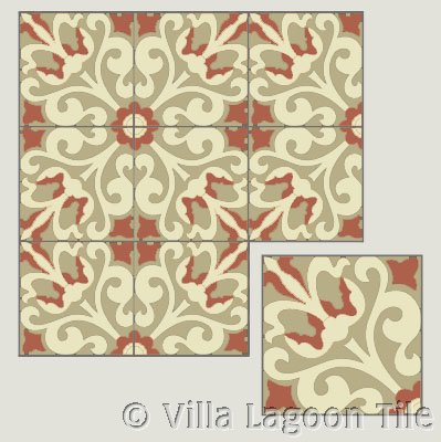 UK cement tile