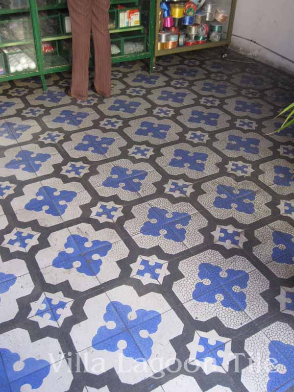 Antique Cement Tile In Mexico Villa Lagoon Tile