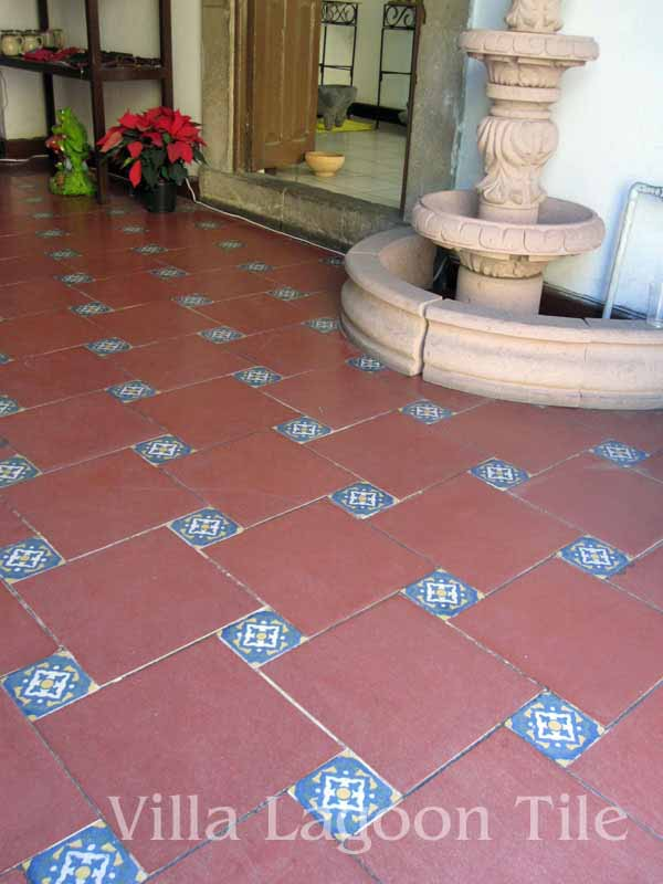 central mexico floor tile
