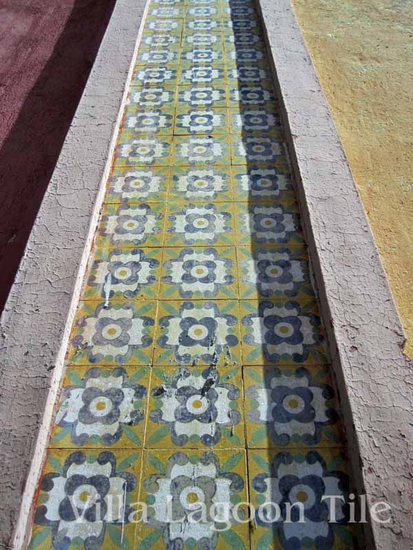 historic cement tile in Mexico