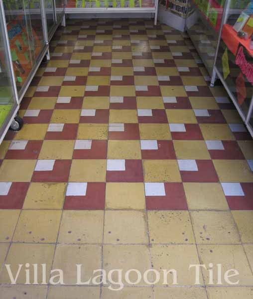 Photos of historic mexican tile