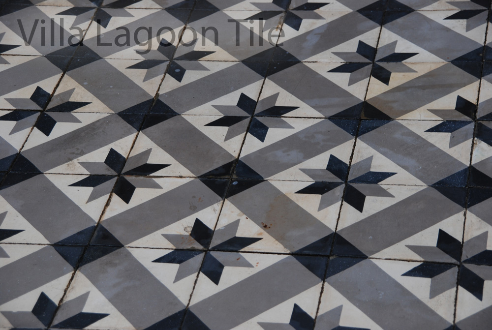 Estrella Antique Cement Tile Washed