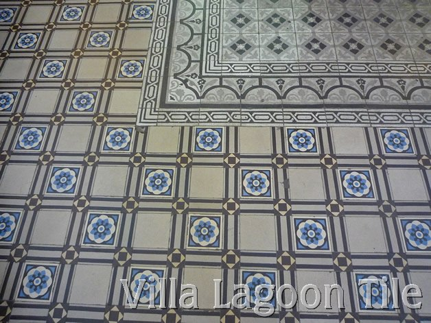 Cement tile in Vietnam made in France