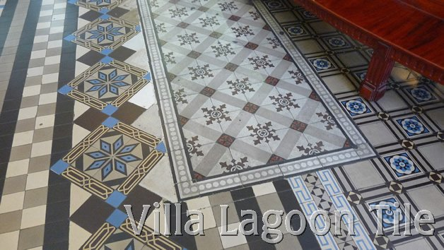 Stunning French cement tile