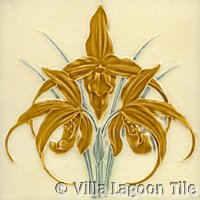 Orchid tile designs