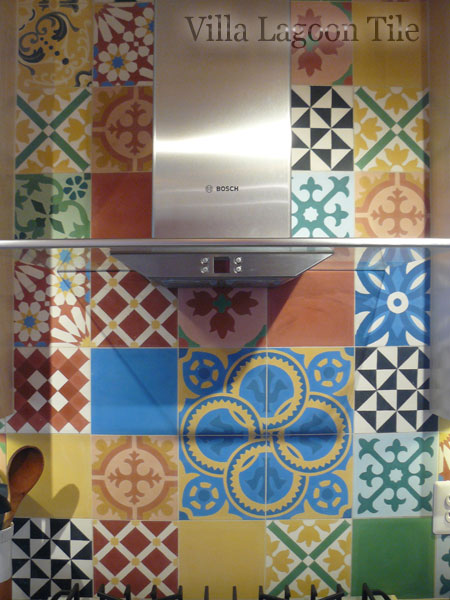 Splashback tiles for the UK