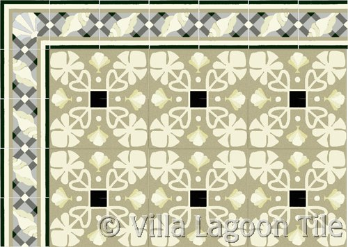 cuban concrete tile flooring