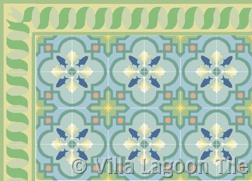 spanish style cement tiles