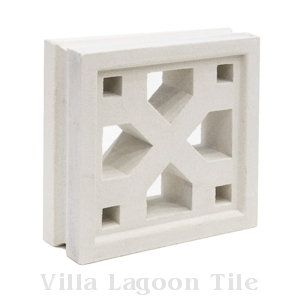 Tahiti Breeze Blocks, from Villa Lagoon Tile.