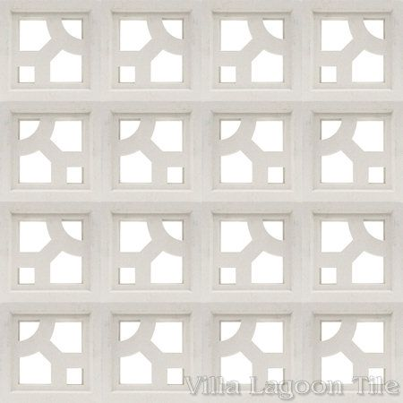 Capri Breeze Blocks, from Villa Lagoon Tile.