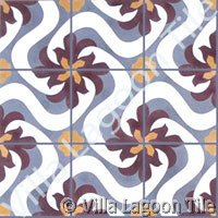 Cement tile from Cuba designs