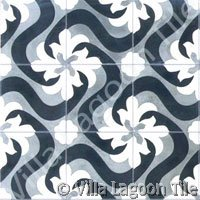 Encaustic tile graphic designs