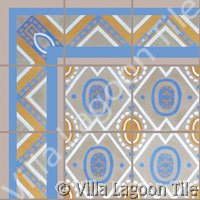Vintage Cuban tile designs