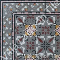 Old world pattern tile