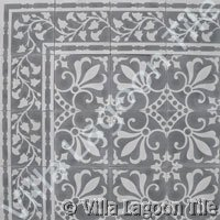 Olde world pattern tile