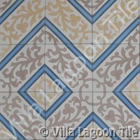 Reclaimed tile designs