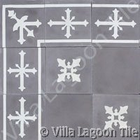 Cadiz cement tile pattern