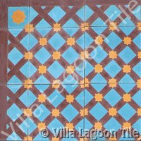 Casablanca moroccan cement tile design