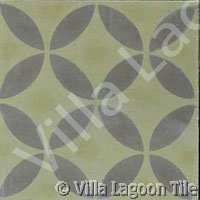 Geometric cement tile