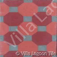 French tile pattern floors