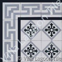 Caribbean cement tile