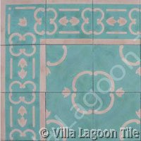 Caribbean historic  tile