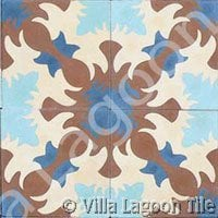 Ocoa tile design for caribbean orders