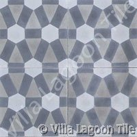 Modern cement tile design