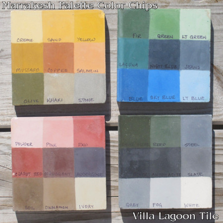 Marrakesh Palette Color Chips