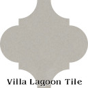 """Urban Gray"" Arabesque Classic Cement Tile"