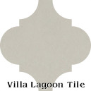 """Limestone"" Arabesque Classic Cement Tile"