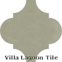 """Dry Sage"" Arabesque Classic Cement Tile"