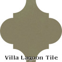 """Portobello"" Arabesque Classic Cement Tile"