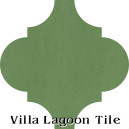 """Peridot"" Arabesque Classic Cement Tile"