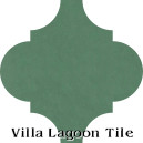 """Jade"" Arabesque Classic Cement Tile"