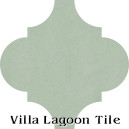"""Pale Jade"" Arabesque Classic Cement Tile"