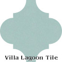 """Velvet Sky"" Arabesque Classic Cement Tile"