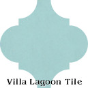 """Miami Blue"" Arabesque Classic Cement Tile"