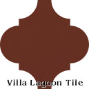 """Beacon Hill"" Arabesque Classic Cement Tile"