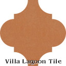 """Smoked Pumpkin"" Arabesque Classic Cement Tile"