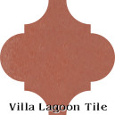 """Terracotta"" Arabesque Classic Cement Tile"