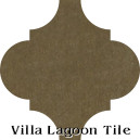 """Bronze"" Arabesque Classic Cement Tile"